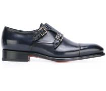 Monk-Schuhe aus Krokodilleder