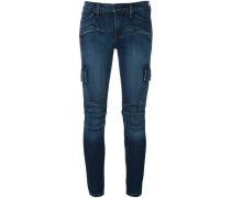 'Colby' Skinny-Jeans im Biker-Look - women