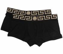 Shorts mit Greca-Bund