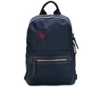 Rucksack mit Spinnenstickerei