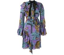 Kleid mit Tiger-Print - women