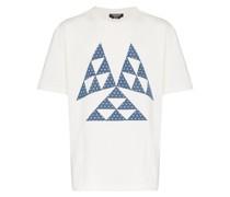 T-Shirt mit Dreieck-Print