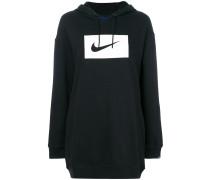 XL swoosh hoodie