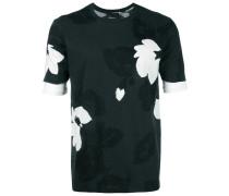 T-Shirt mit floralem Muster - unisex