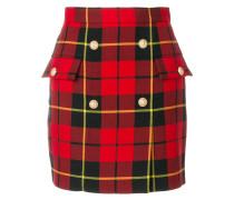 tartan mini skirt