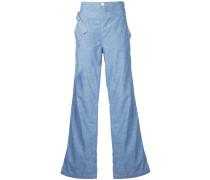 Jeans-Schlaghose mit hohem Bund