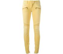 Skinny-Jeans im Biker-Look - women