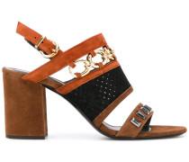 - Sandalen mit Zierkette - women