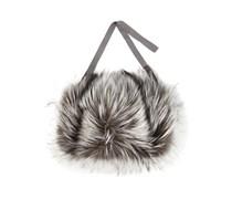 fox fur handwarmer
