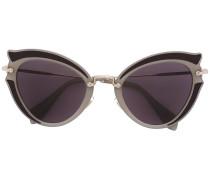- cat eye sunglasses - women - Acetat/metal - 52
