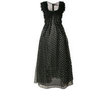 Gepunktetes Organza-Kleid