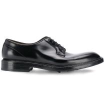 Flache Derby-Schuhe