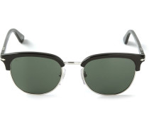 Sonnenbrille mit eckigem Gestell - men - Acetat