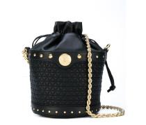 quilted bucket shoulder bag