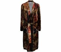 Kanpur midi trench coat