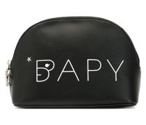 BAPY BY *A BATHING APE® Kosmetiktasche aus gekörntem Leder