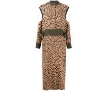 Kleid mit Sheer-Effekt