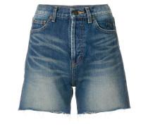 Shorts mit Stonewash-Effekt