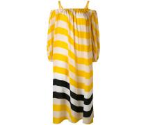 Seidenkleid mit Streifen - women - Seide - 40