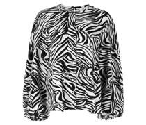 Dianne Bluse mit Zebra-Print
