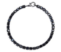 18K black gold Tennis diamond bracelet