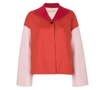 two-tone boxy jacket