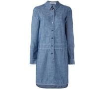 - Chambray-Hemdkleid mit Knöpfen - women