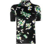 T-Shirt mit Gänseblümchen-Print