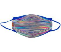 Mundschutz mit Regenbogenstreifen