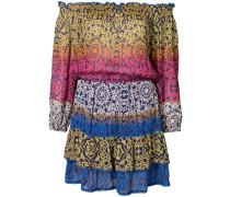 Kleid mit Colour-Block-Optik