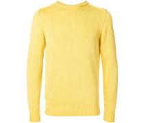 Pullover mit aufgerolltem Saum