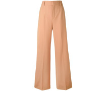 flared trousers - women