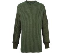 Pullover mit gefütterten Ärmeln