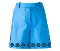 Shorts mit Lochdetails