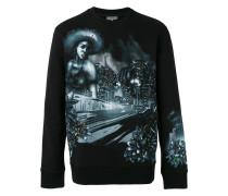 Sweatshirt mit grafischem Print - men
