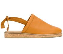 Slingback-Sandalen aus Kalbsleder