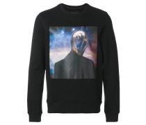 "Sweatshirt mit ""Alien""-Print"