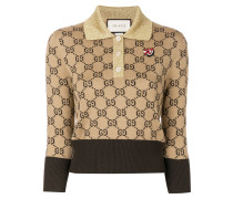 GG Supreme print knitted top