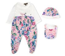 floral babygrow set