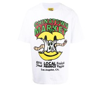 "T-Shirt mit ""Local Produce""-Print"