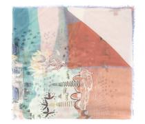 - Schal mit Vulkan-Print - women - Kaschmir/Modal