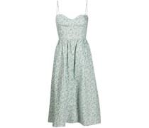 Cale floral-print midi dress