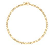 Goldfarbene 'DNA' Halskette