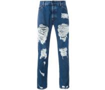 Schmale DistressedJeans