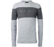 Pullover mit Colour-Block-Optik