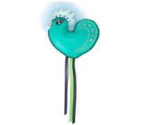 Verzierter Schlüsselanhänger mit Vogel-Design