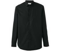 - textured trim shirt - men - Baumwolle - 41
