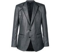 striped tuxedo blazer