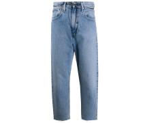 'Barrel' Cropped-Jeans
