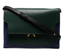 Mini Bi-Colour Trunk Shoulder Bag